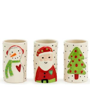 Christmas Character Vessels