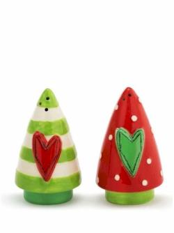 Christmas Tree Salt & Pepper