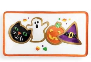 Halloween Cookies Platter