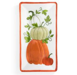 Stacked Pumpkins Platter THUMBNAIL