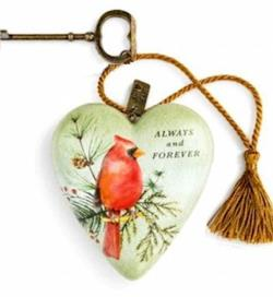 Cardinal Decorative Art Heart THUMBNAIL
