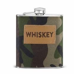 Camo Whiskey Flask