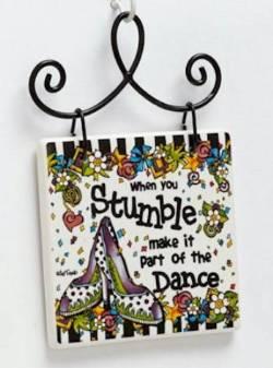 Stumble Plaque