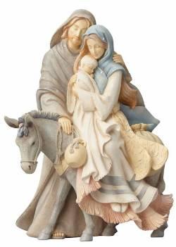 Holy Family with Donkey