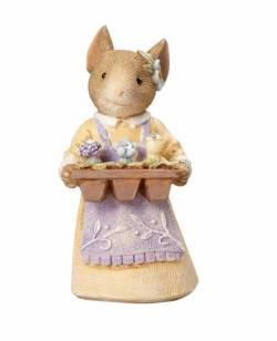 Mouse with Flower Tray
