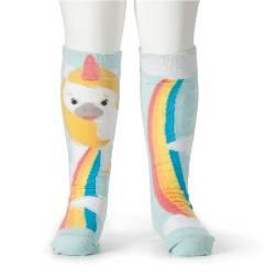 Unicorn and Rainbow Knee Socks