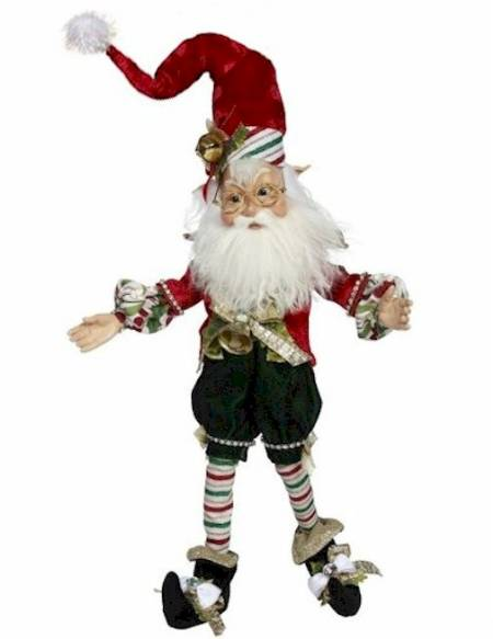 North Pole Candy Cane Elf LARGE