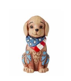 Mini Patriotic Puppy