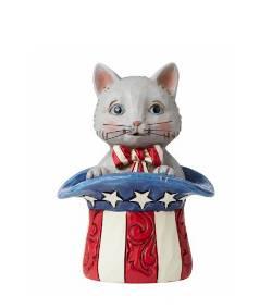 Mini Patriotic Kitten