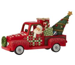 Santa in Red Truck THUMBNAIL