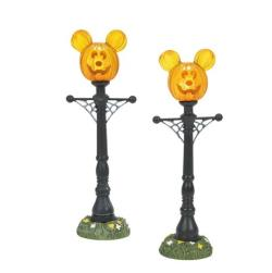 Mickey's Pumpkintown Street Lights THUMBNAIL