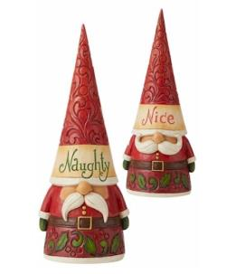 Naughty/Nice Two Sided Gnome