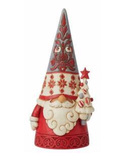 Nordic Noel Gnome with Tree