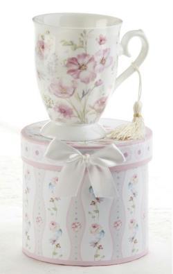 Poppyseed Porcelain Mug in Gift Box