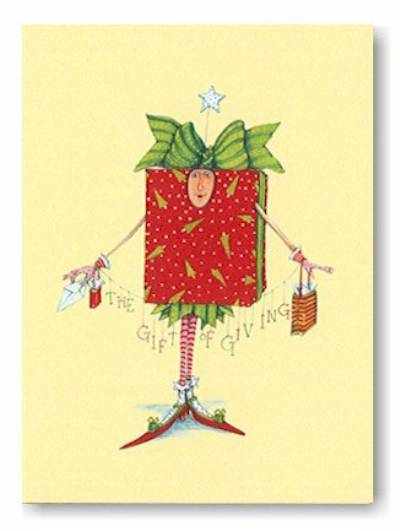 Patience Brewster Christmas Cards, All Wrapped Up at Fiddlesticks