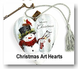 heart figures with special sentiments great gift