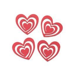 Heart Swirl Magnets