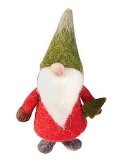 Wool Gnome Christmas figure