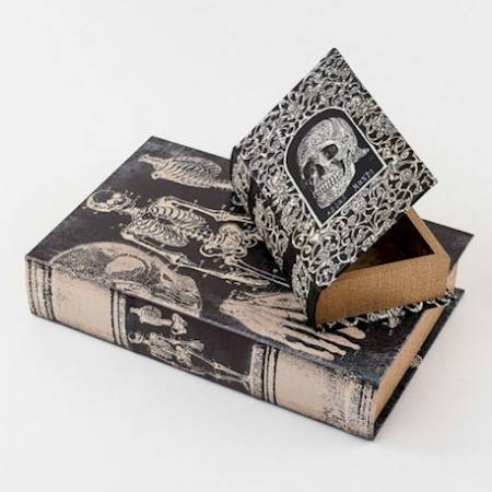 Skeleton Book Box LARGE
