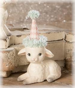 Spring Party Sitting Lamb