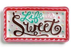 Life is Sweet Rectangle Platter THUMBNAIL