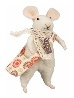 Lucy Mouse with Messenger Bag