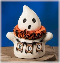 Boo Ghost figure for Halloween THUMBNAIL