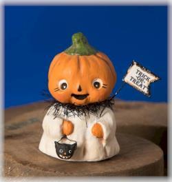 Trick or Treat Pumpkinhead figure for Halloween