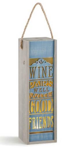 Wine Pairs Well Lantern