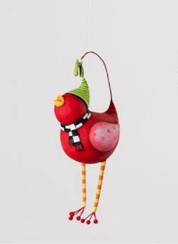 Red Bird Ornament