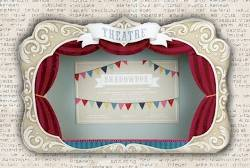 Theater Stage Display Shadowbox