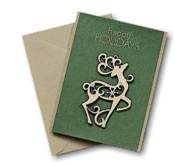 Reindeer Ornament Greeting Card