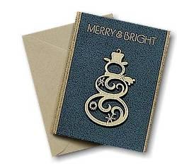 Snowman Ornament Greeting Card