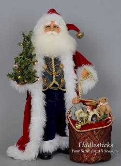 Traditional Santa - Lighted