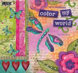 Color My World™ 2018 Wall Calendar