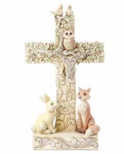 Woodland Cross with Animals THUMBNAIL