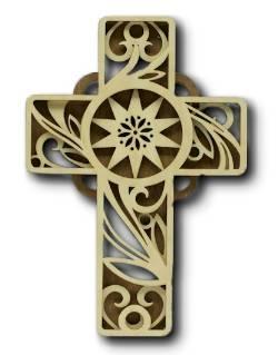 Vine Design Cross