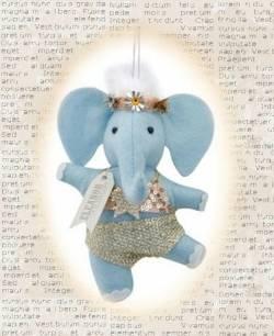 Eleanor the Elephant Dancer Ornament