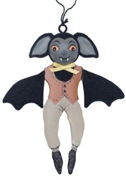 Gideon Bat Tin Ornament