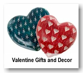 Valentine Gifts and Decor