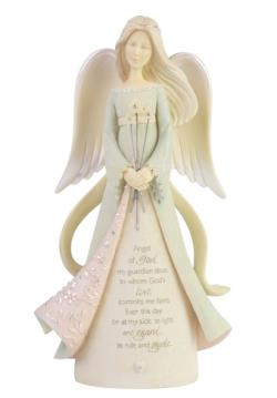 Guardian Angel Figure with bouquet of stars THUMBNAIL