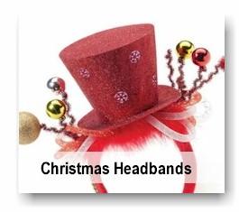 Headbands - Christmas