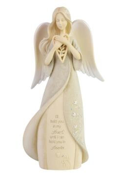 Bereavement Angel Figure holding heart THUMBNAIL