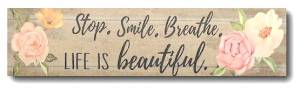 Life is Beautiful Magnet THUMBNAIL