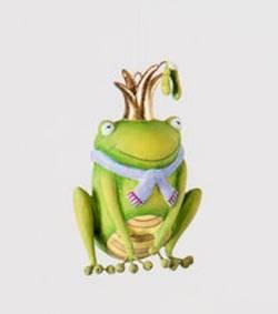 Mini Frog Ornament