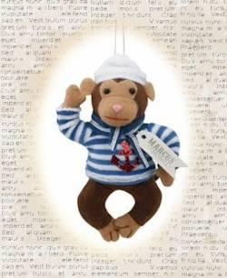 Marcus the Monkey Sailor Ornament