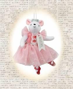 Maxine the Mouse Clara Ornament