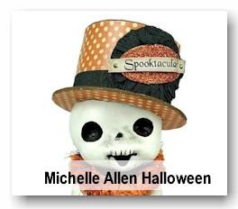 Halloween characters by artist Michelle Allen