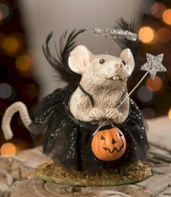Cute mouse in tutu with star wand THUMBNAIL