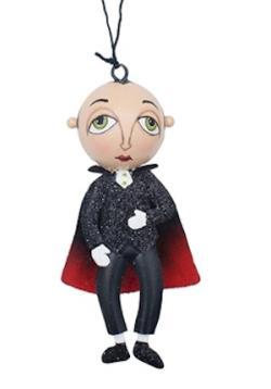 Norbert Vampire Tin Ornament